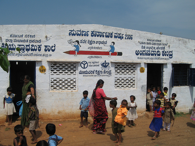 Primary schools of rural India are way behind the global norms of good quality education .