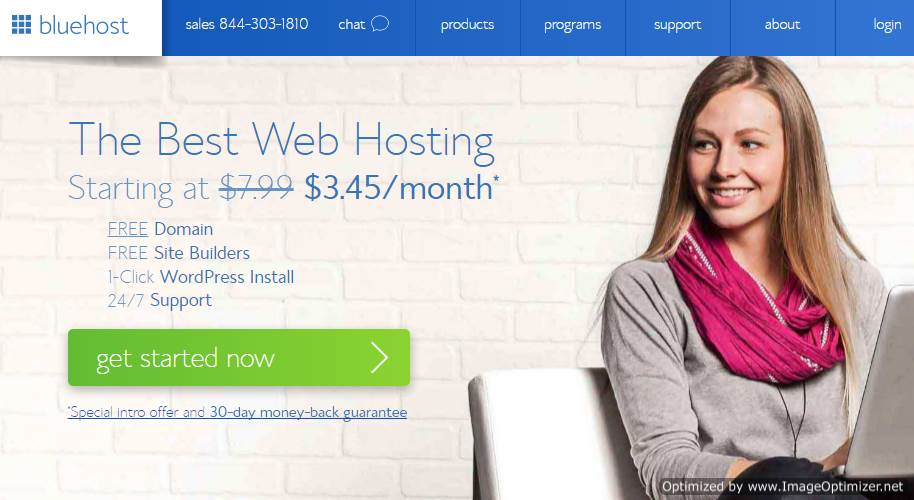 Bluehost Review : A Good Host Which Can Do Better